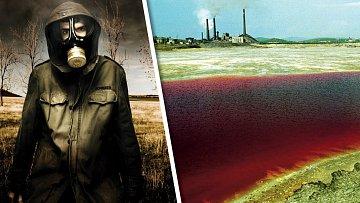 Jezero Karačaj je kvůli radioaktivitě životu nebezpečné.