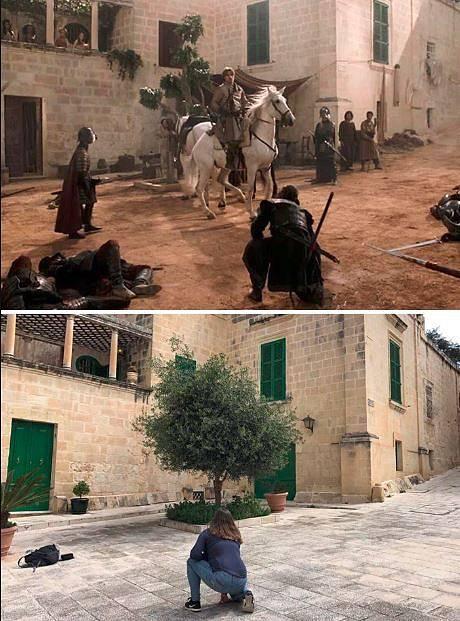 Královo přístaviště - Náměstí Mesquita, Malta
