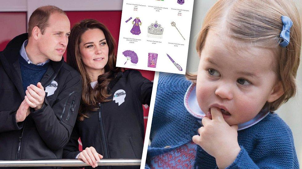 Snahou zpěněžit vlastní dceru, navíc naprosto nevhodným způsobem, Will a Kate u mnoha Britů hodně klesli.