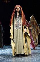 Kostým z muzikálu Sibyla, královna ze Sáby