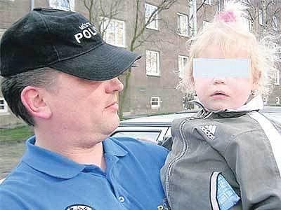 Malá Štěpánka skončila v péči Městské policie.