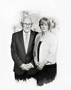 """""""Vždycky nás spojovali společné zájmy. Také jsme vždy tomu druhému dávali prostor na jeho vlastní koníčky. Láska je podpora,"""" myslí si Cynthia a Peter, kteří se brali v roce 1961."""