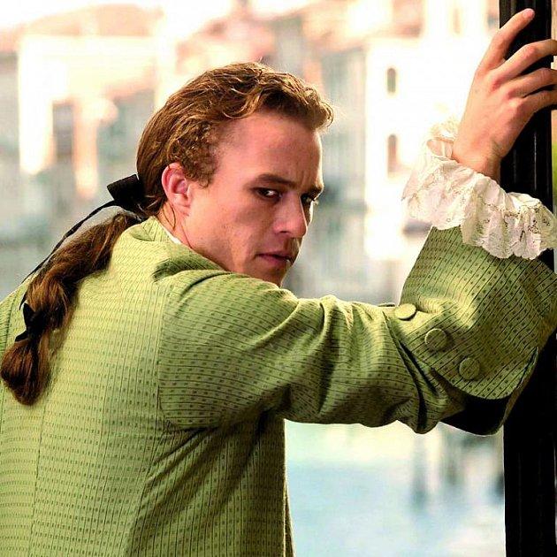 Casanova figuroval vmnoha filmech – vtomto případě ho hrál Heath Ledger.