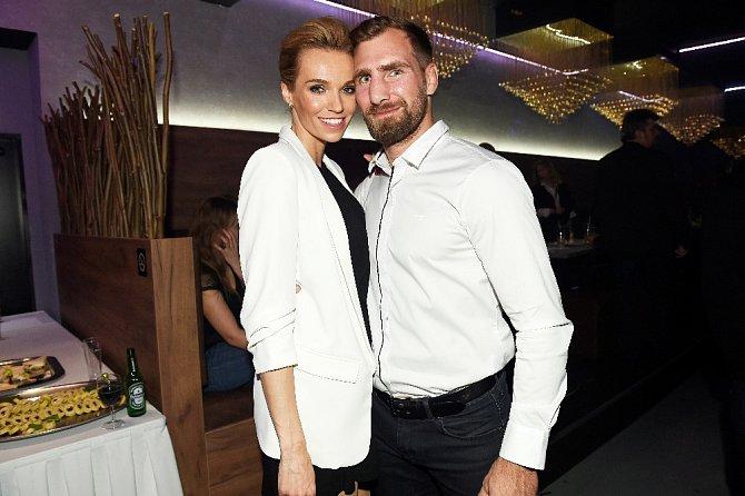 Hana Mašlíková s manželem Andrém.
