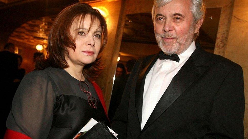 Manželský pár Libuše Šafránková a Josef  Abrhám