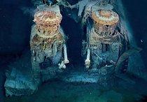 Motory Titanicu, které poháněly tuto gigantickou loď.