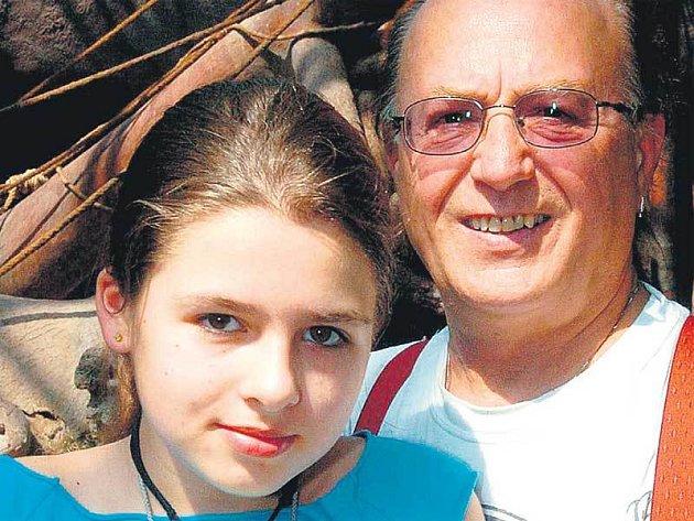 Petr Janda s dcerou Eliškou ještě před tragédií.