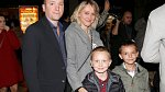 Lucie Gottová s rodinou