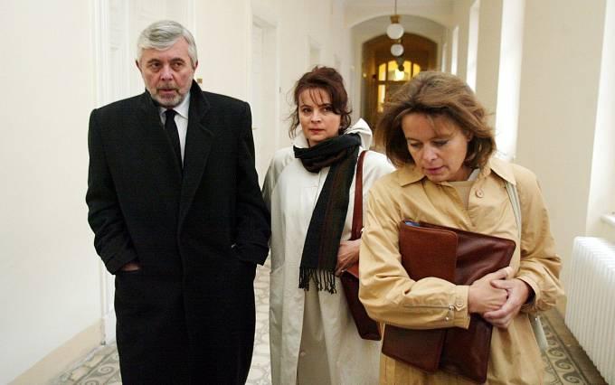 Libuška Šafránková Josef Abrhám, Miroslava Šafránková