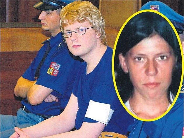 Vrah Tomáš Beran a oběť Tereza Malíková (ve výřezu)