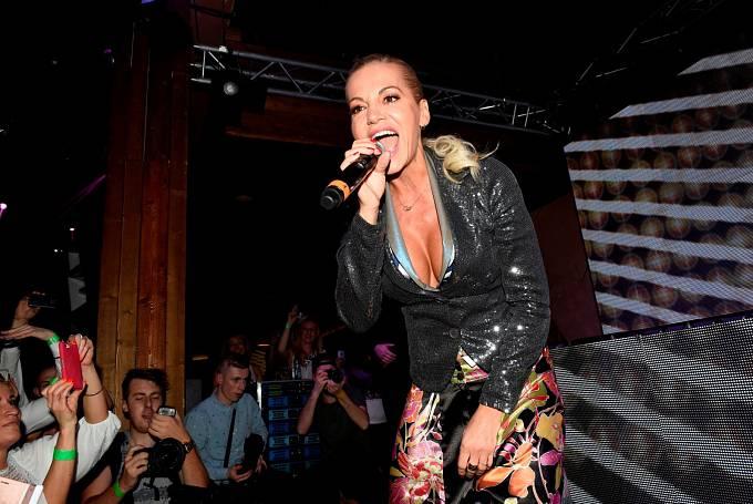 Dara Rolins svým vystoupením nadchla fanoušky.