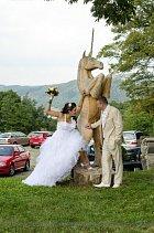 Svatba jako z pohádky...