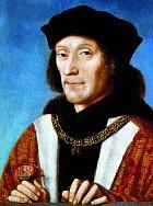 Budoucí král Jindřich Tudor kvůli epidemii raději utekl zLondýna.