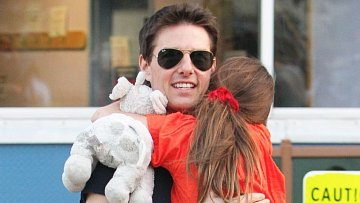 Tom Cruise s dcerou