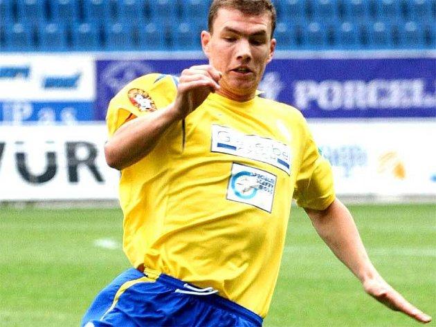 Bosňan Edin Džeko zvýšil za dva roky v Teplicích svou cenu třiapadesátkrát.