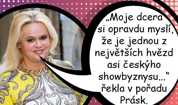 Monika Štiková se veřejně obouvá do své dcery Ornelly Koktové.