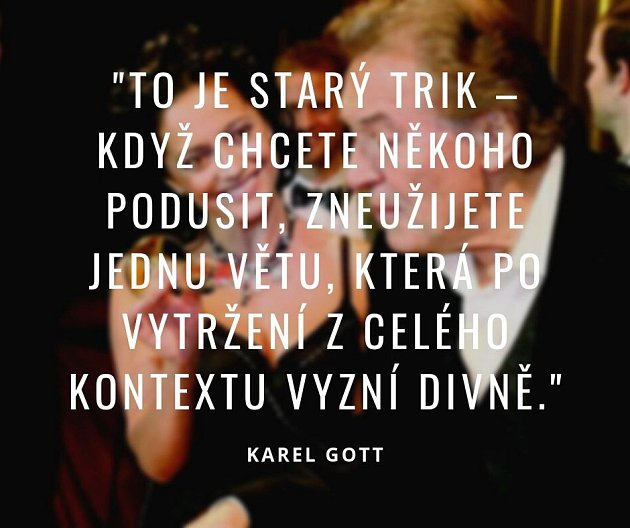 Citáty Karla Gotta