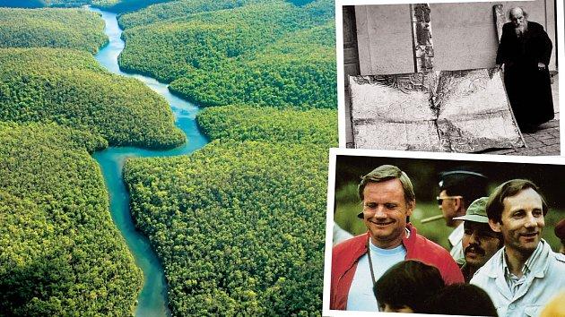 Nedaleko řeky Rio Coangos se ukrývá podzemní labyrint, který má velmi tajemnou pověst.