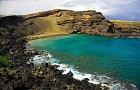 Pláž se zeleným pískem, Havaj