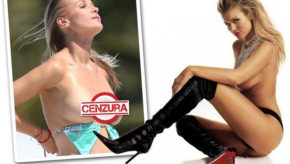 Sexy modelka po delší odmlce ukázala všechno.