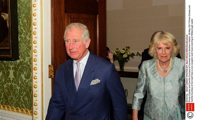 Princ Charles smanželkou Camillou
