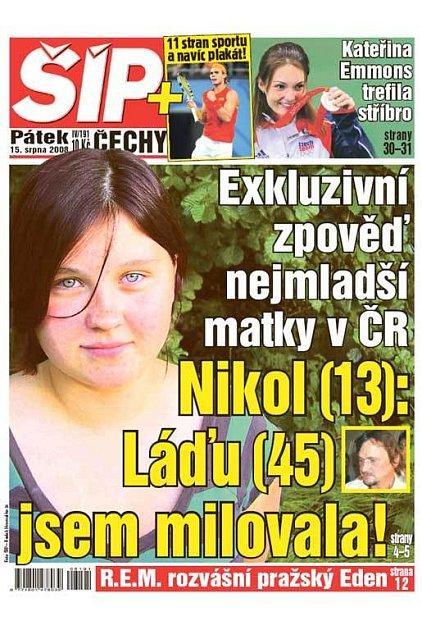 Titulka 15. 8. 2008