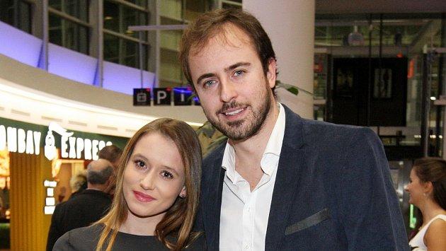 Mirek Hrabě s přítelkyní