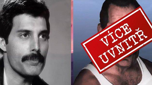 Freddie Mercury A Dalsi Mrtve Legendy Jak By Vypadali Kdyby
