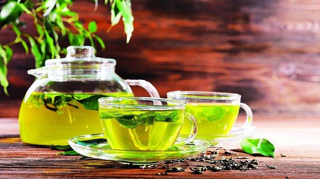 Zelený čaj má širokou škálu využití.
