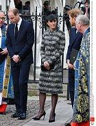 Na Kate a Williamovi je znát, že nejsou zrovna v pohodě.