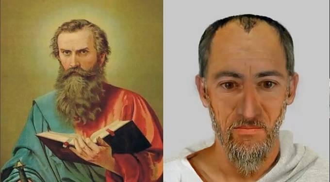 Svatý Nicholas, předobraz Santa Clause a Mikuláše vypadal takto.