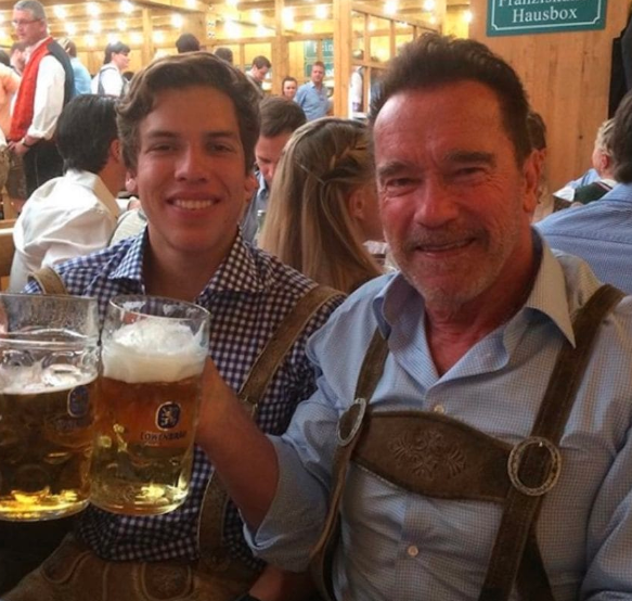 Arnold Schwarzenegger, syn