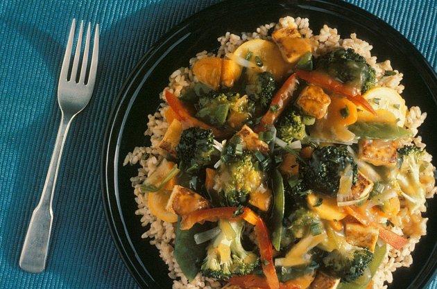 Večeře vhodná pro vegetariány či vegany.