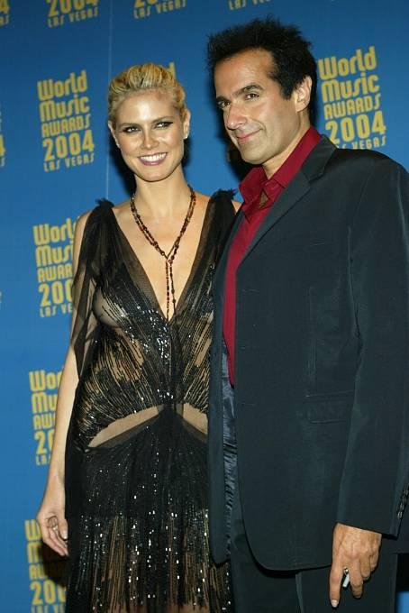 David přitahuje krásné ženy jako magnet. Výjimkou nebyla ani Heidi Klum.