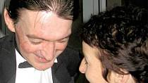Vladimír Dlouhý se svojí přítelkyní Petrou.