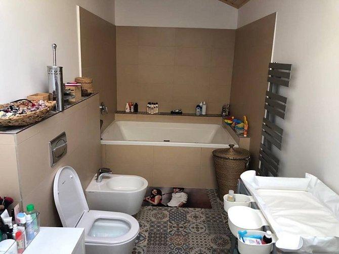 Koupelnu si Míša navrhla sama přesně podle jejich představ.