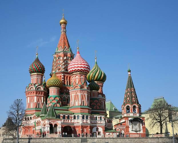 Chrám Vasila Blaženého, Moskva