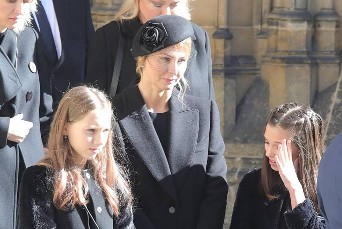 Ivana Gottová s dcerami Charlotte a Ellou