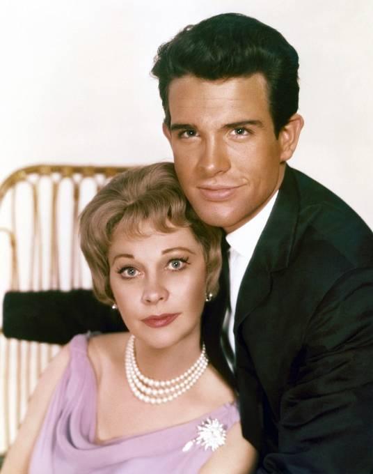 Drama Římské jaro paní Stoneové (1961). Na snímku sWarrenem Beattym.