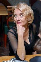 Veronika Žilková na tiskové konferenci