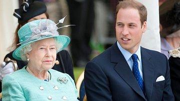 Královna Alžběta tlačí na prince Williama