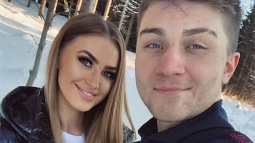 Marek Valášek alias Datel a jeho přítelkyně