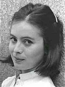 Libuše Šafránková za mlada