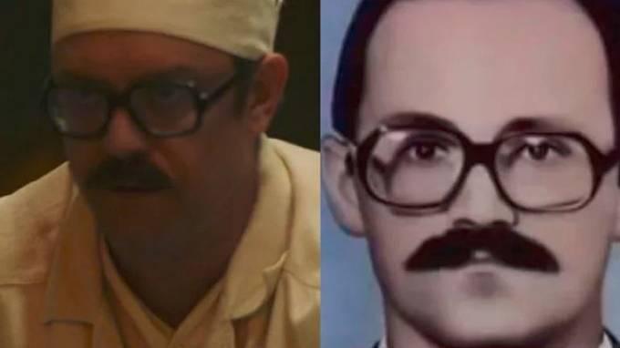 Sam Troughton v roli Aleksandra Akimova, vedoucího pracovníka 4. bloku
