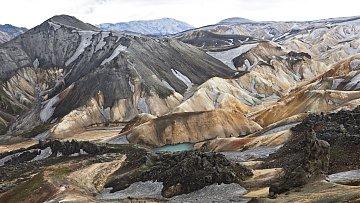 Pohoří Landmannalaugar