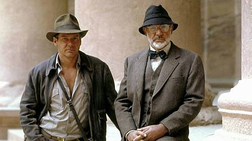 Harrison Ford a Sean Connery