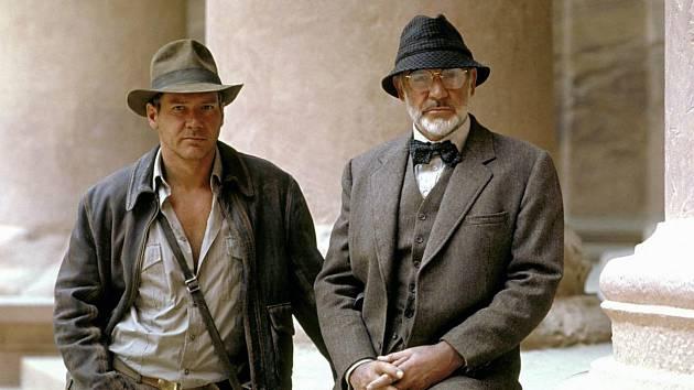 Harrison Ford a Sean Connery