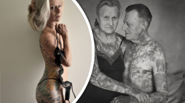 Tetování na důchodcích: Vkusné, nebo ošklivé?