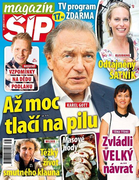 Titulní strana Magazínu Šíp 21.9.2016