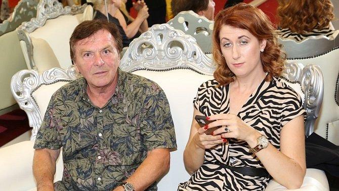 Pavel Trávníček a Monika Trávníčková mají zřejmě problémy ve vztahu.